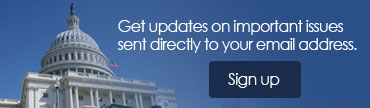 Get updates on important issues sent directly to your email address.