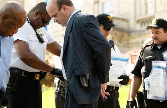 JPM John Lewis Arrested